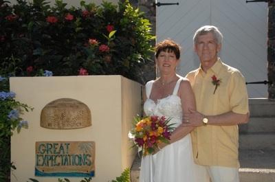 we hebben gehost veel bruiloften (de bruid en bruidegom terug voor hun verjaardag)