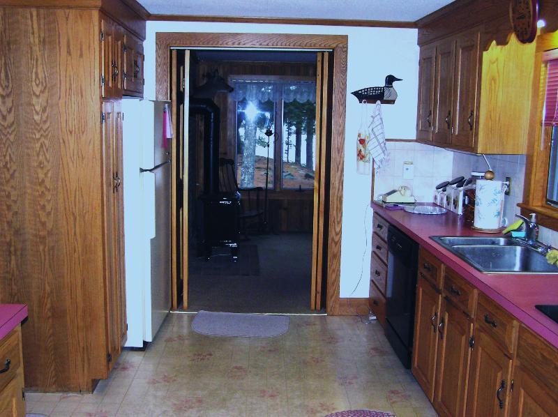 Kitchen Looking Towards Sun Room