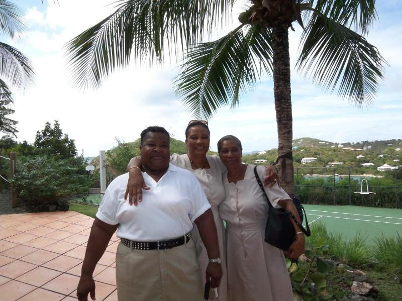 our fabulous housekeeping staff (Josie, Veronica & Marie)