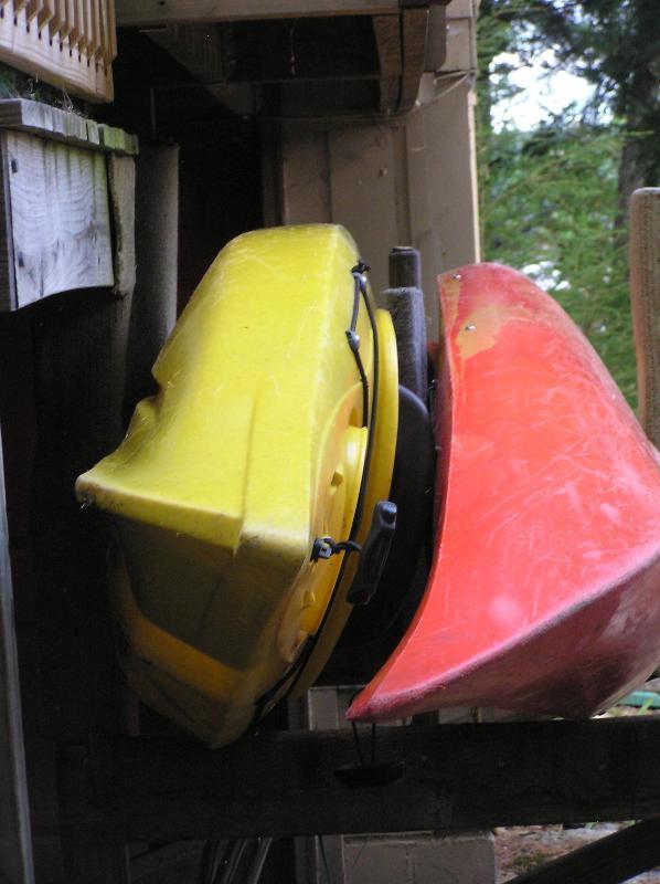 Tenant Has Use Of Single & Tandem Kayaks.
