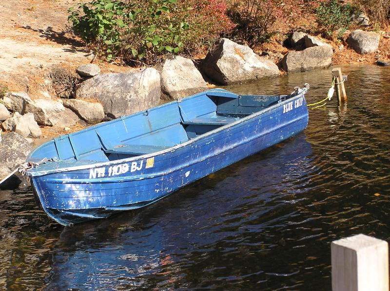 Use This Rowboat To Fish or Just Relax.