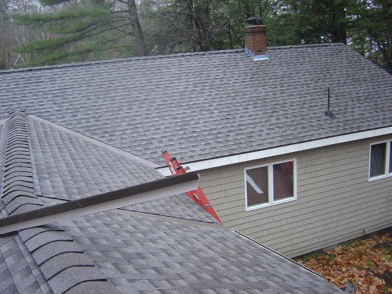 A New Roof Was Installed In November.  What A Difference.