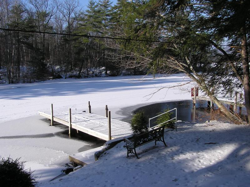 We Rent All Year Long.  A Deicer Protects The Dock Area.