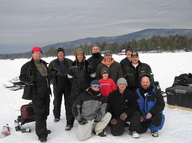 This Gang Comes Every Year & Stays To Fish The Derby.  Great Times, Great Food, Great Company.