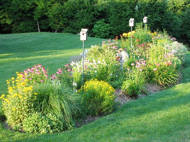 Haven Perennial Wave Garden in the East Lawn