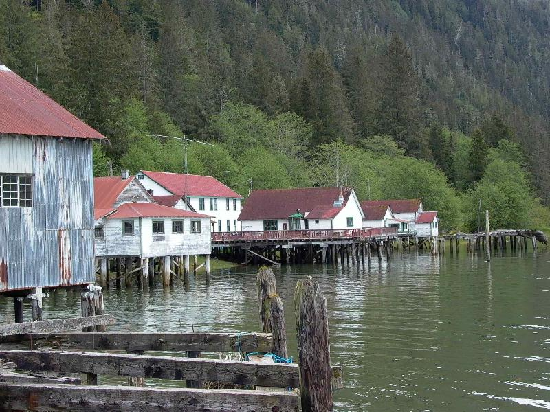 Vecino de Cassiar Cannery - North Pacific Cannery Museum, A National Historic Site
