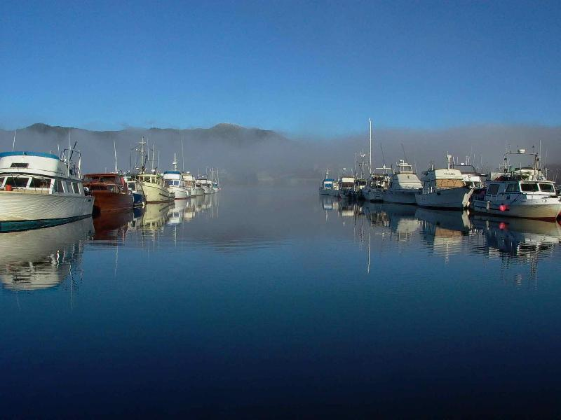 Cassiar Cannery - Port Edward Marina - where guests keep and launch their boats - 10 minutes away