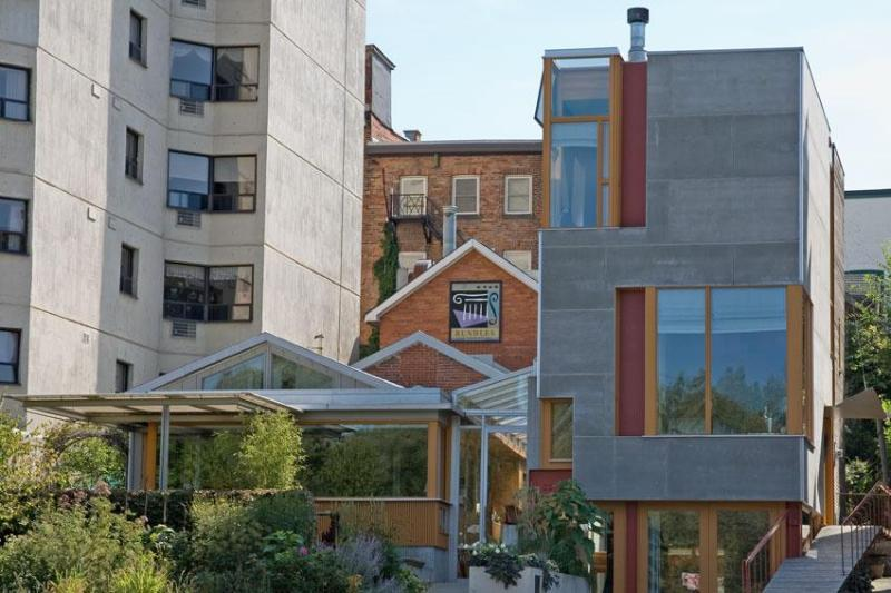 Rundles Morris House.   Architecture: Shim-Sutcliffe.
