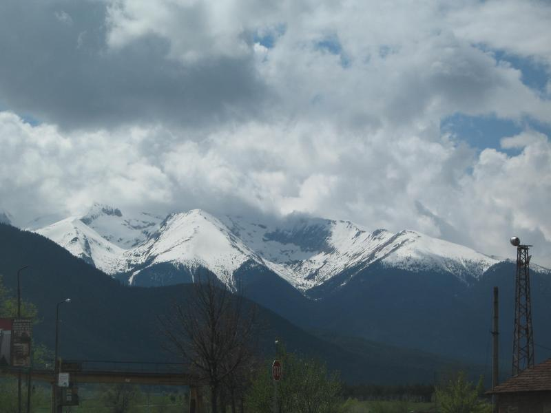 Snow Capped Mountains in May