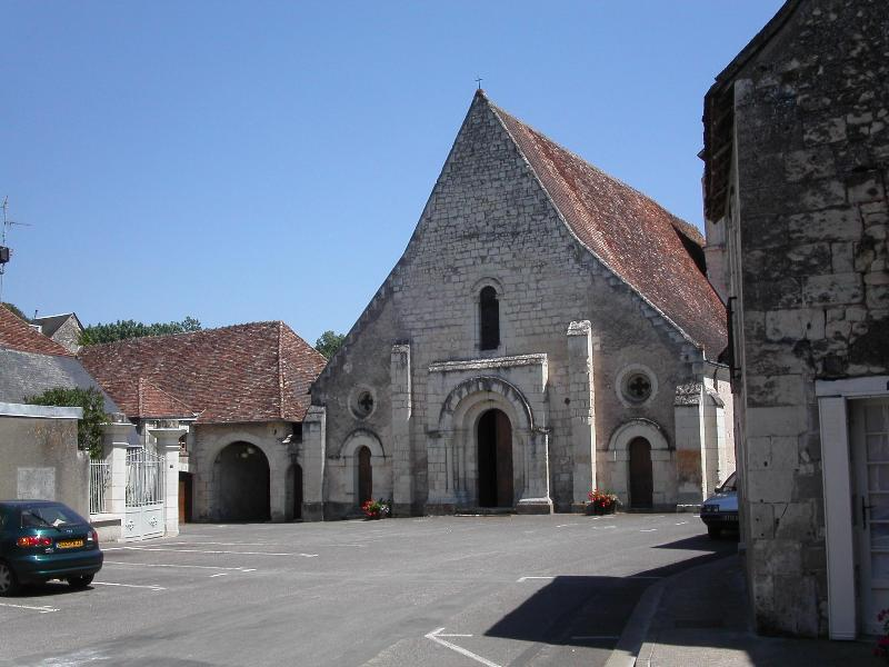 View of Chaumussay (village 2 kilometers away)