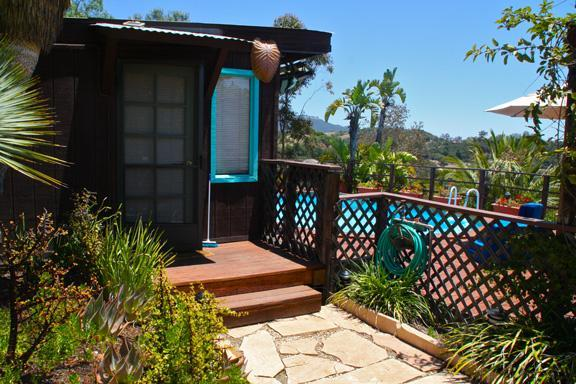 Entrance to Pool House