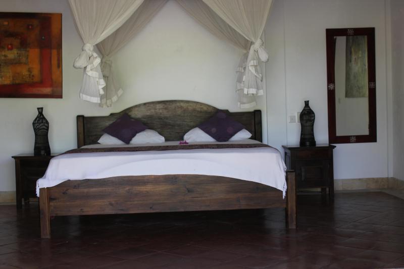 een van de vier slaapkamers