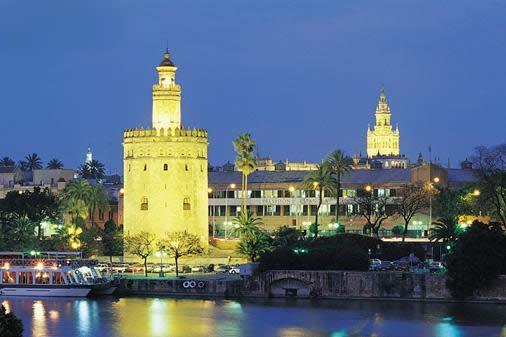 Sevilla skyline from Triana