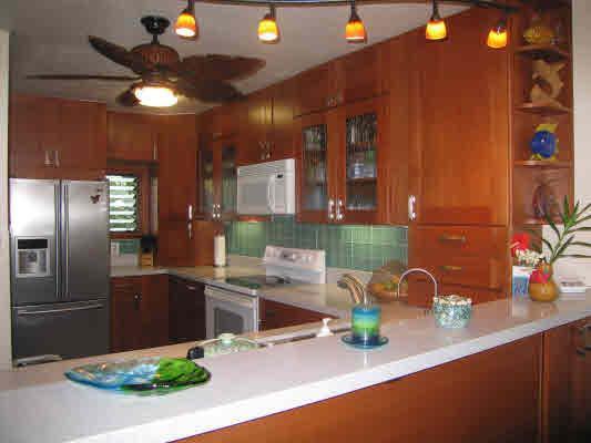 Onlangs gerenoveerd keuken
