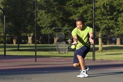 Tennis at Rotary Park, 5 min from house
