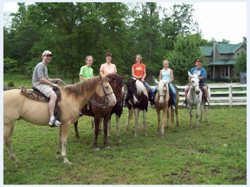 Horseback  Riding at The Ranch, 10 min. from Milton