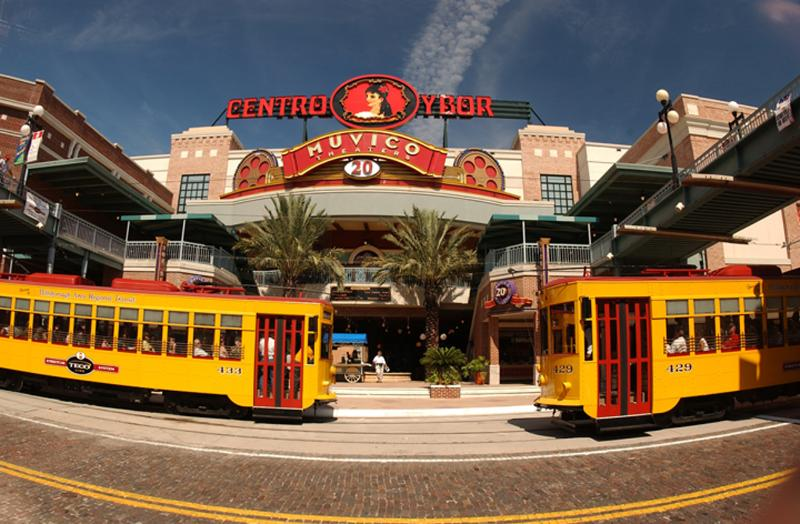 Centro Ybor only about 5min away