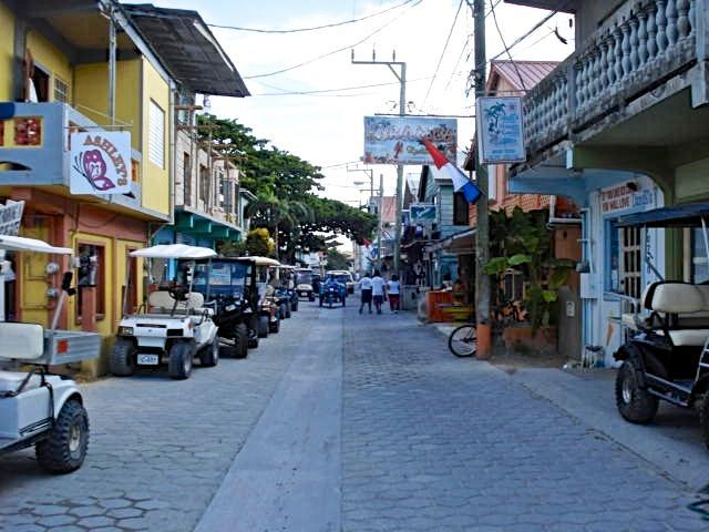 Colourful San Pedro Town