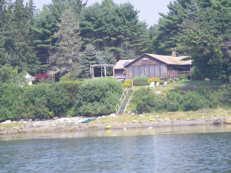 Lito Lodge from the water