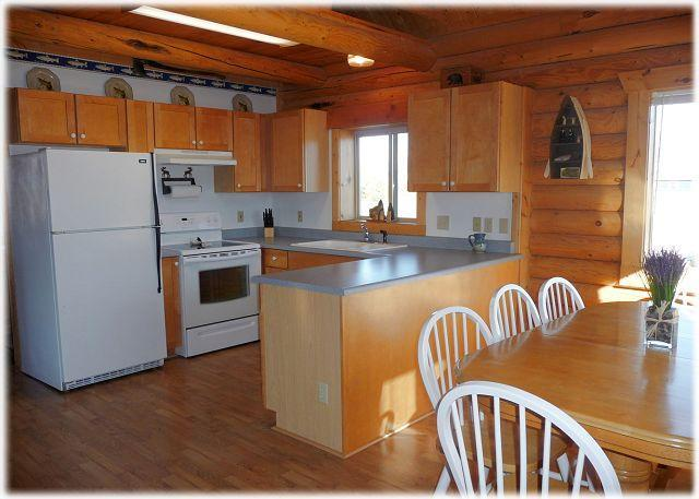 The kitchen at Cabin