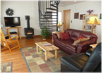 The living area at North