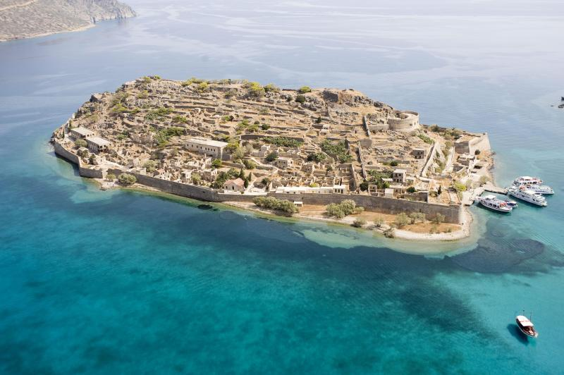 Spinalonga, inspiration for Victoria Hislop's best seller 'The Island'