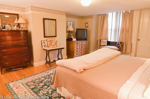 Dormitorio principal (TV ha sido actualizado para pantalla plana)