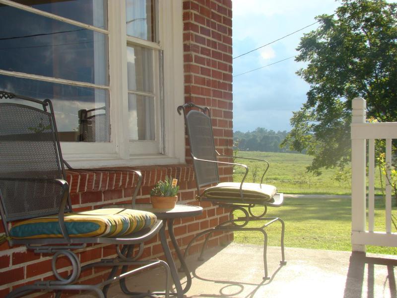 Enjoy the front porch