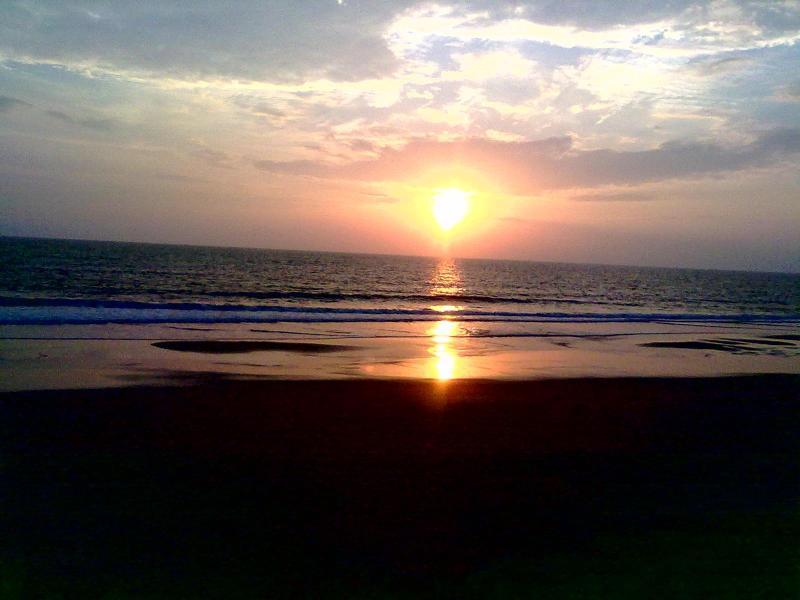 Sunset as seen from Ocean Hues