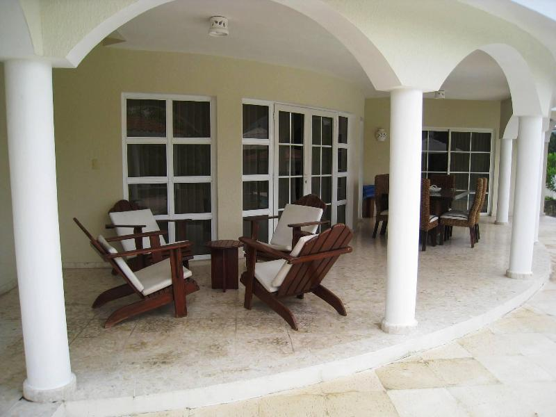 First floor terrace