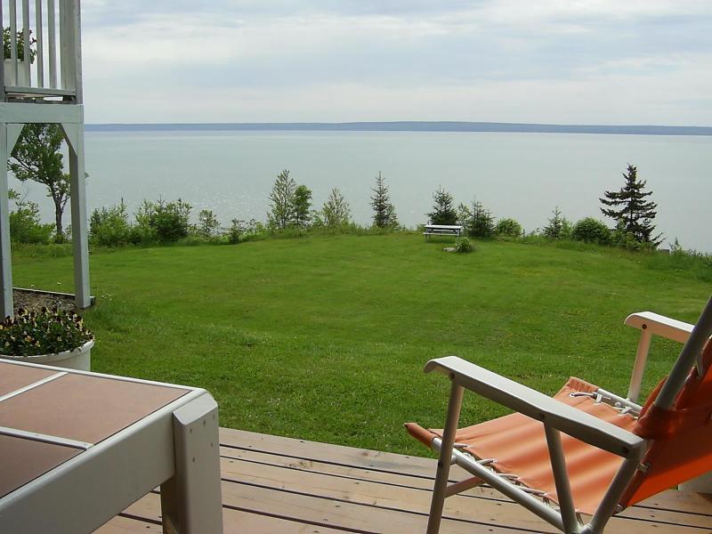 View of Bay and Nova Scotia coastline