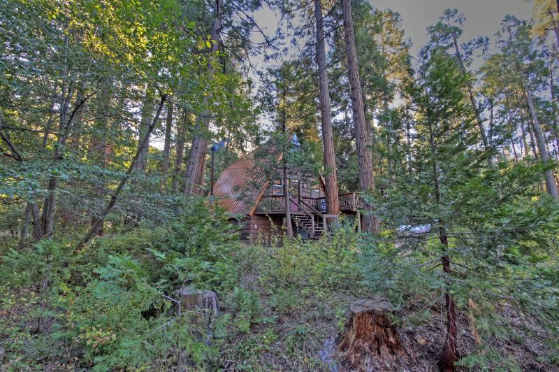 Welcome to Idyllcreek A-Frame Vacation Cabin in beautiful Idyllwild, Califorina