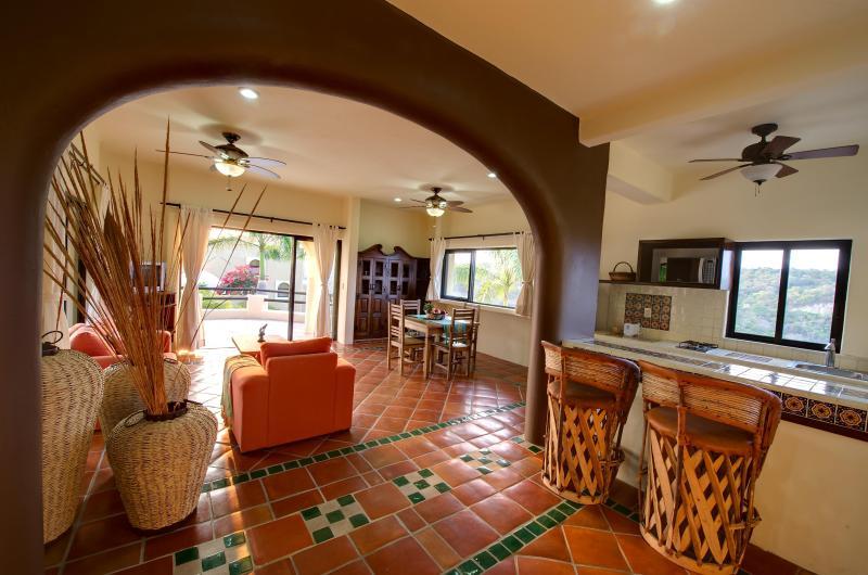 Casita - Kitchen & Bar Area