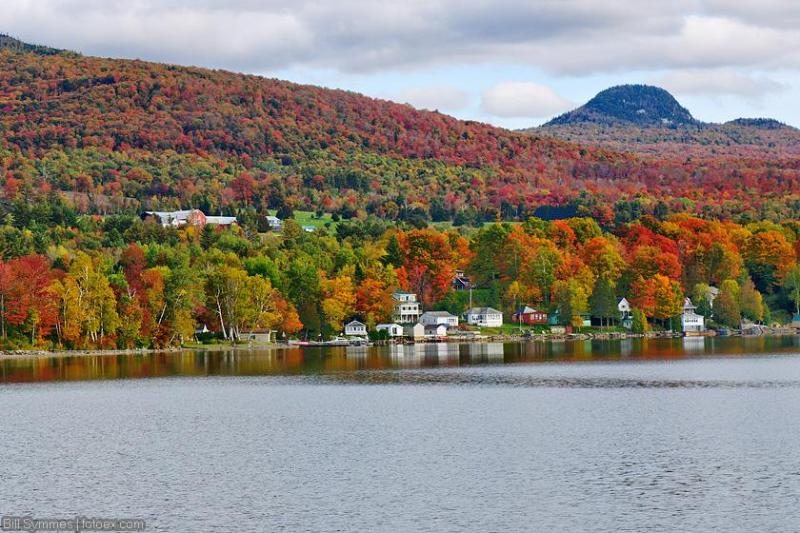 Vermont's known for the fall colors late Sept,early October