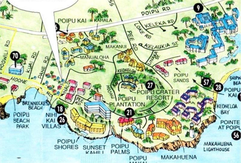 Poipu cratère est #20 dans le centre de la zone de Poipu