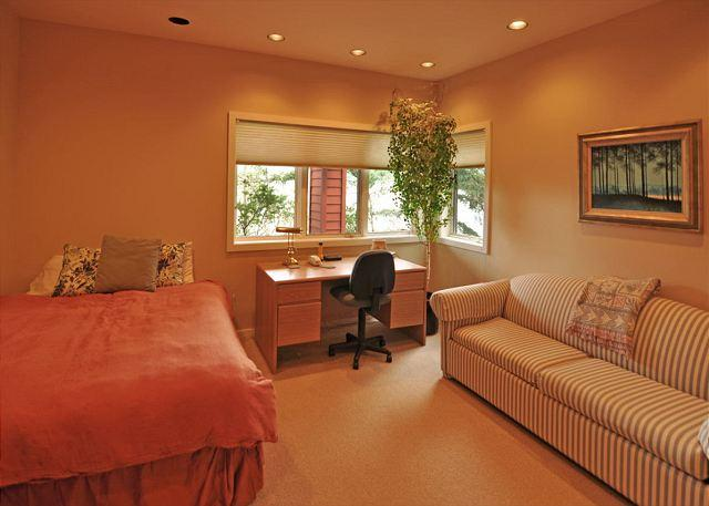 A great room for the one in the group that needs a quiet place to work.
