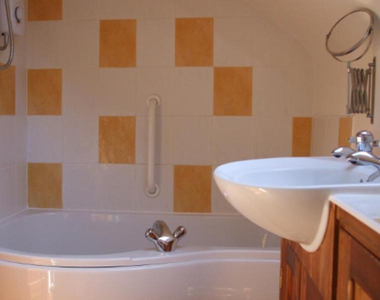 bathroom (shower over bath)