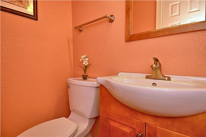 Powder Room off Kitchen