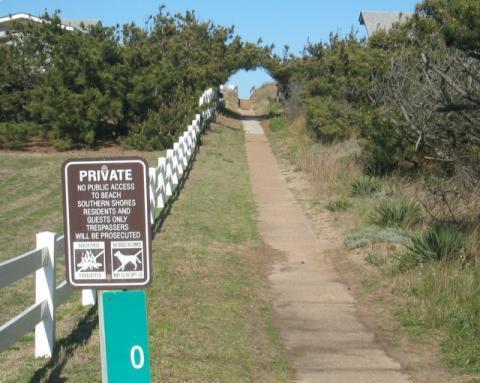 3rd Av Ocean Access path