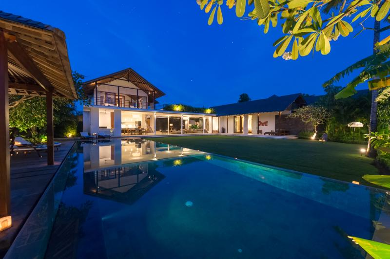 Villa Kavya at Night