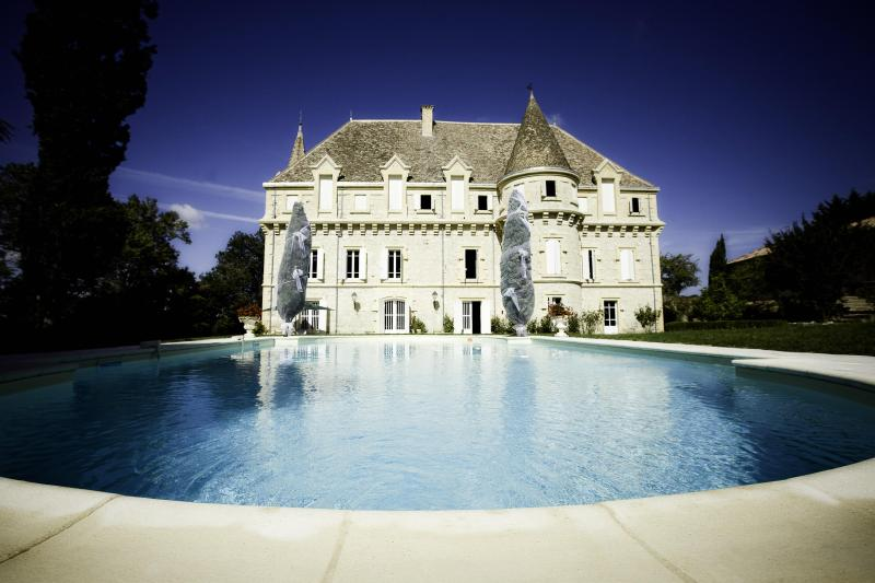 Luxury Chateau: 8 bedrooms, private pool & tennis, aluguéis de temporada em Goudourville