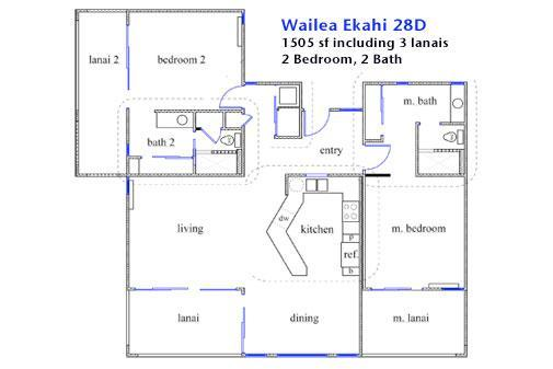 This floorplan was developed from our architect's drawings for the remodel.