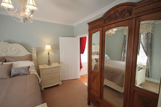 Queen Bedroom with Antique Armoire