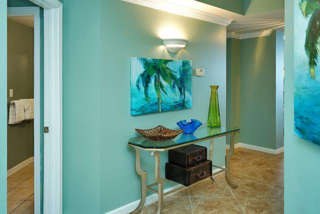 Grand entranceway to your amazing vacation at 1501SBE Directly on the Beach!