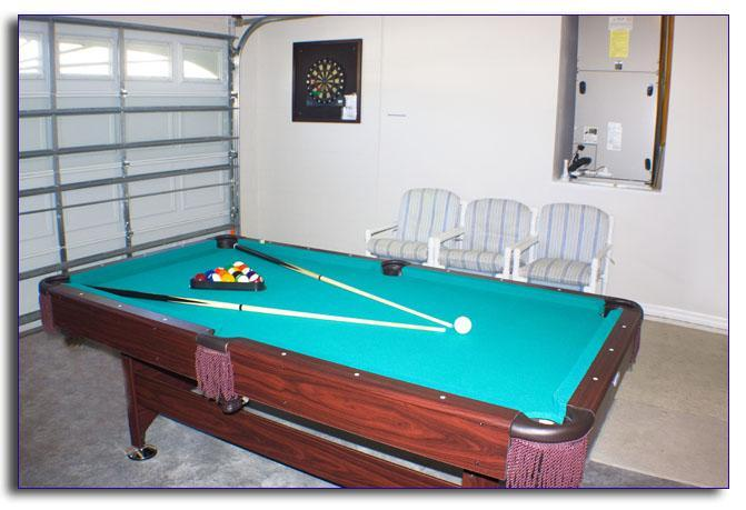 Games room with dartboard and pool table