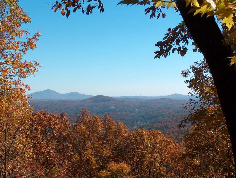 The best view in Lumpkin County!