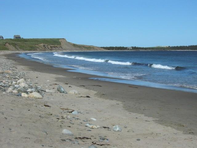 Hirtle's Beach next to Gladee's