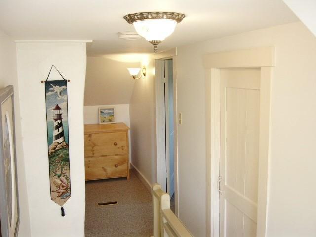 upstair hallway