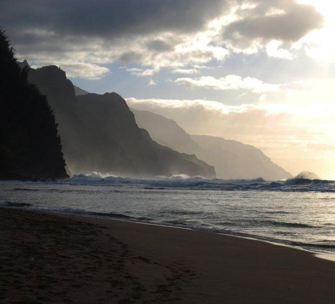 Kee Beach, Na Pali