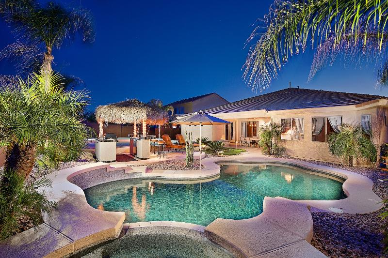 Resort style backyard - Heated Pool & Spa